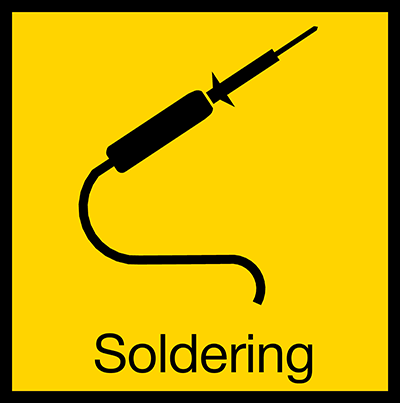 This product is recommended for soldering.