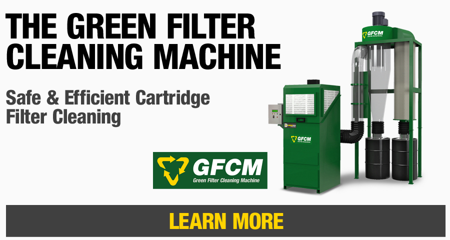Diversitech's patented Green Filter Cleaning Machine will effectively and safely clean your cartridge style air filters.