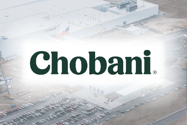 Chobani Food Processing Plant in Twin Falls, Idaho