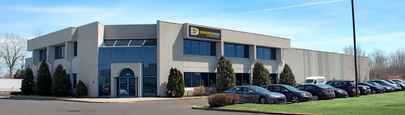 Diversitech Corporate Headquarters, located in Montreal, Canada