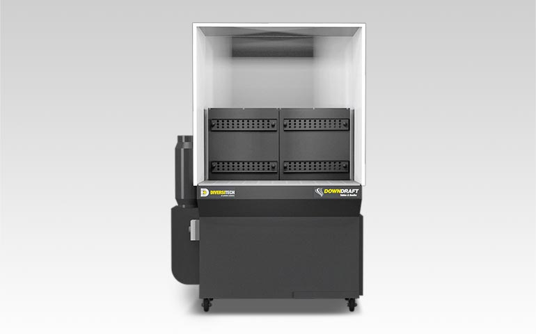Support for your DD 2' X 4' Downdraft Booth | Diversitech