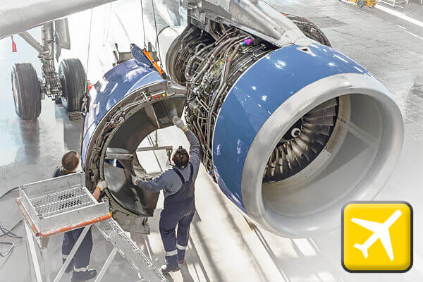 Learn more about the Aerospace industry and the air quality challenges it faces
