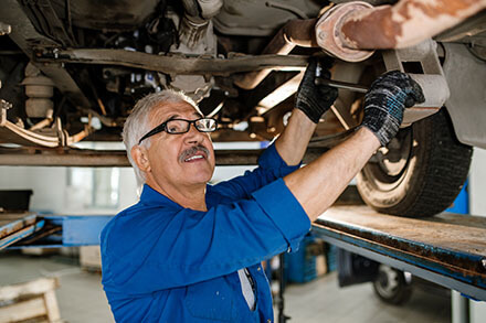 Automotive repairman