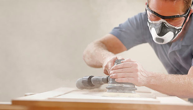 Breathing sanding dust can cause a multitude of serious health risks.